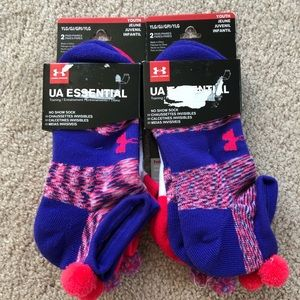 Under armour youth large socks NWT
